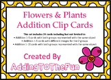 Flowers & Plants, Spring Growing - Addition Clip Cards