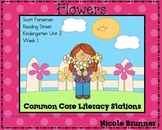 Flowers Reading Street Unit 2 Week 1 Common Core Literacy