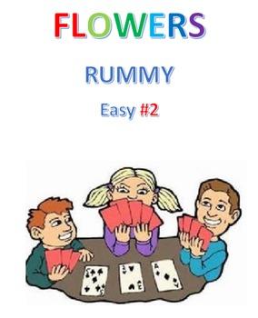 Flowers Rummy Easy #2