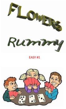 Flowers Rummy  Easy #1