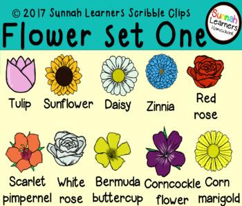 Flowers -Set One