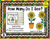 Flowers -Spring - Count to 10 Adapted Interactive Reader &