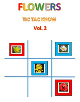Flowers Tic Tac Know Volume 2