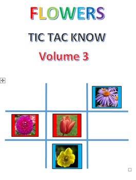 Flowers Tic Tac Know Volume 3