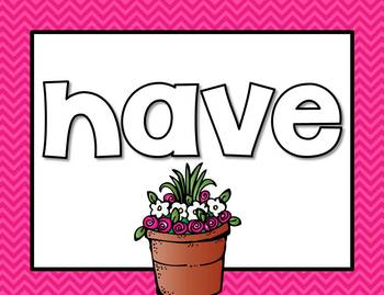 Flowers Unit 2 Week 1