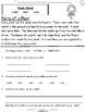 Flowers Week Long Fluency Packet - Week 1 of April Packet