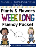 Flowers Week Long Fluency Packet - Week 1 of April Packet