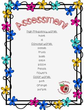 Flowers Word Assessment