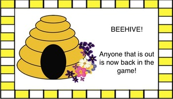 Speech Therapy Open Ended Games Flowers and Bees