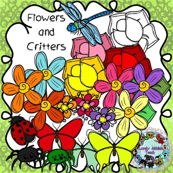 Flowers and Critters Clip Art