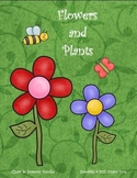 Flowers and Plants Unit Can be used with Scott Foresman  Frog and Toad