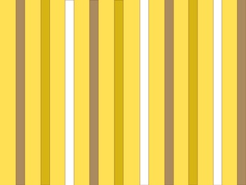 Flowers and Stripes PowerPoint Template