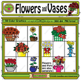 Flowers and Vases ClipArt