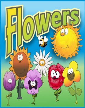 Flowers and assorted clip art for spring or summer related activities