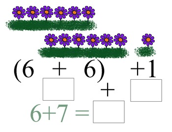 Flowers are Blooming! Doubles and Doubles Plus One Workbook