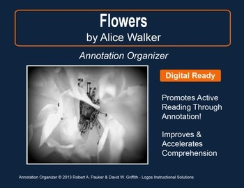 """""""Flowers"""" by Alice Walker: Annotation Organizer"""