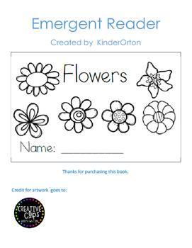 Flowers - emergent reader