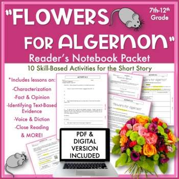 Flowers For Algernon Worksheets \u0026 Teaching Resources