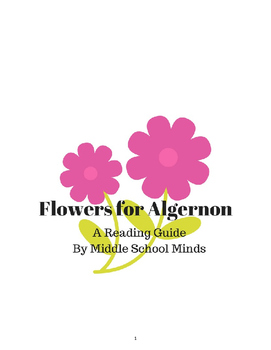 Flowers for Algernon - A Novel Unit