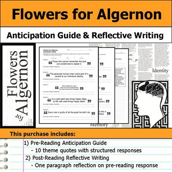 Flowers for Algernon - Anticipation Guide & Reflection