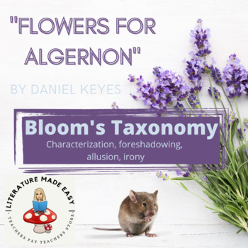Flowers for Algernon Blooms Taxonomy Questions