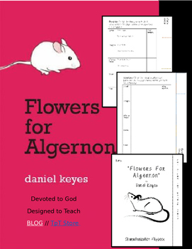 Flowers for Algernon Characterization Booklet