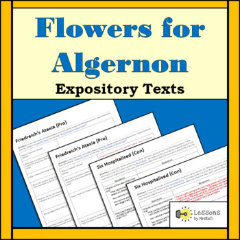 Flowers for Algernon: Expository Texts Discussion Questions
