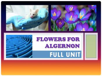 Flowers for Algernon FULL UNIT (EDITABLE)