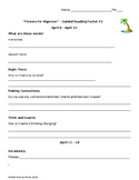 Flowers for Algernon - Guided Reading Packet #3