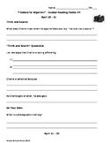 Flowers for Algernon - Guided Reading Packet #4