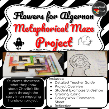 Flowers for Algernon Metaphorical Maze Project