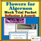 Flowers for Algernon Mock Trial: Reflection and Awards