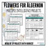 """Flowers for Algernon"" Multiple Intelligence Project List and Rubrics"