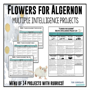 Flowers For Algernon Art Projects