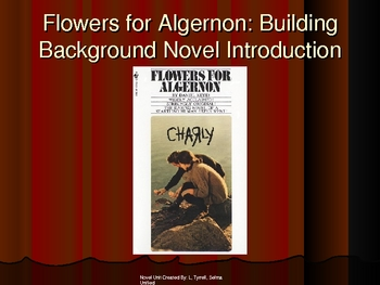 Flowers for Algernon  Powerpoint w/ Text Intro & Literary Terms Review