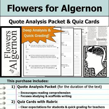 flowers for algernon analysis