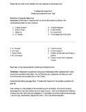 Flowers for Algernon - Reading Comprehension Test