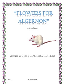 """Flowers for Algernon"" Reading Comprehension/Closed Reading"