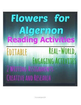 Flowers for Algernon Real World Activities BUNDLE