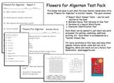 Flowers for Algernon Test Pack  -- Charly