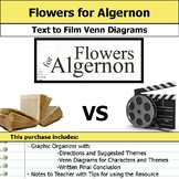 Flowers for Algernon - Text to Film Venn Diagram and Film Essay