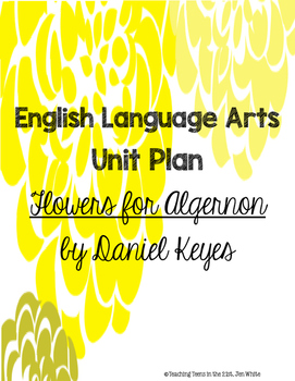 Flowers for Algernon Unit Plan Activities