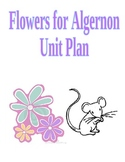 Flowers for Algernon Unit Plan (worksheets, activities, quiz, test)