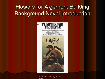 Flowers for Algernon Unit: Study Guide, Vocabulary, Test & Powerpoint