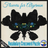 Flowers for Algernon Vocabulary Crossword Puzzle