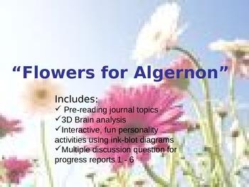 Flowers for Algernon power point