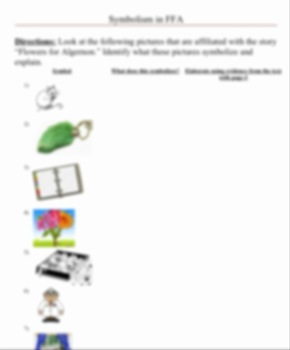 Flowers for Algernon by Daniel Keyes novel unit with prezi pre read - Grades 7-9