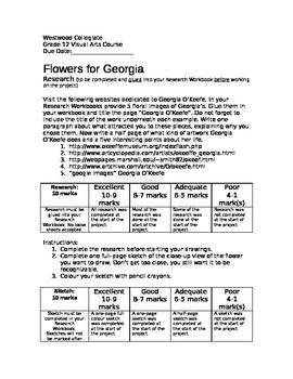 Flowers for Georgia