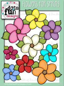 Flowers for Spring ~Dots of Fun Designs~