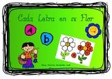 Flowers of letters / Flores de letras